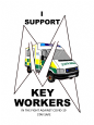 KEY WORKER SUPPORT T-SHIRTS